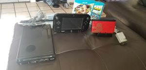 Wii u and nintendo 3ds for Sale in Los Angeles, CA