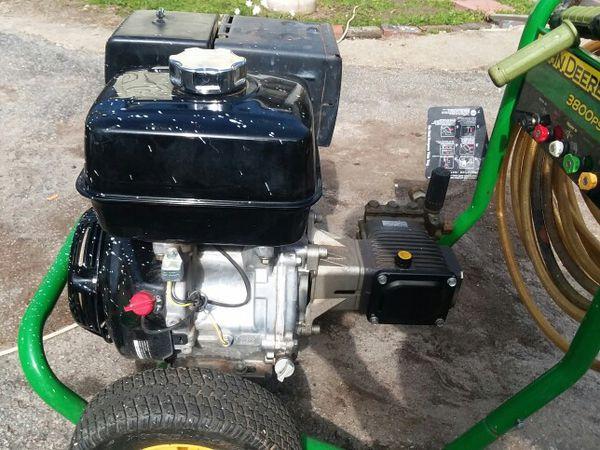 John Deere 3800 Psi Pressure Washer   Zef Jam on