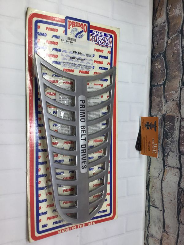 Harley Davidson Primo Belt Drive Side Guard Polished New! for Sale in  Henderson, NV - OfferUp