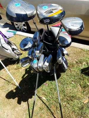 Mens Golf Set, tons of clubs, taylor made and others for Sale in Santa Monica, CA