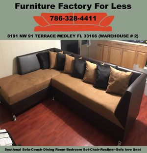Sectional sofa couches new for Sale in Hialeah, FL