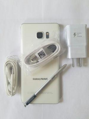 Samsung Galaxy Note 5, Unlocked, Excellent Condition. (Almost new) for Sale in Arlington, VA
