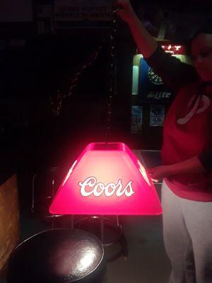 Vintage hanging pool/poker table light for Sale in Philadelphia, PA