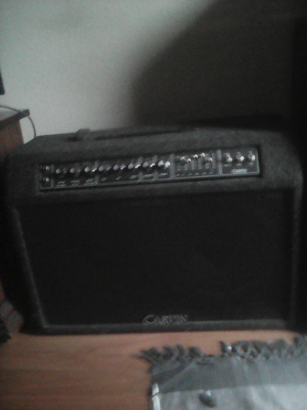 Carvin Xv 212 Tube Guitar Amp 100wtt 2x12 Speakers1997 For Sale In