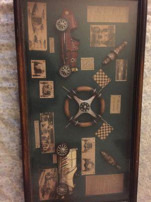 History of Car Racing display for Sale in Herndon, VA