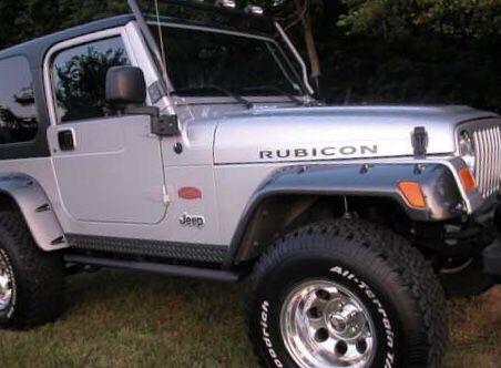 2003 Jeep Wrangler Tomb Raider