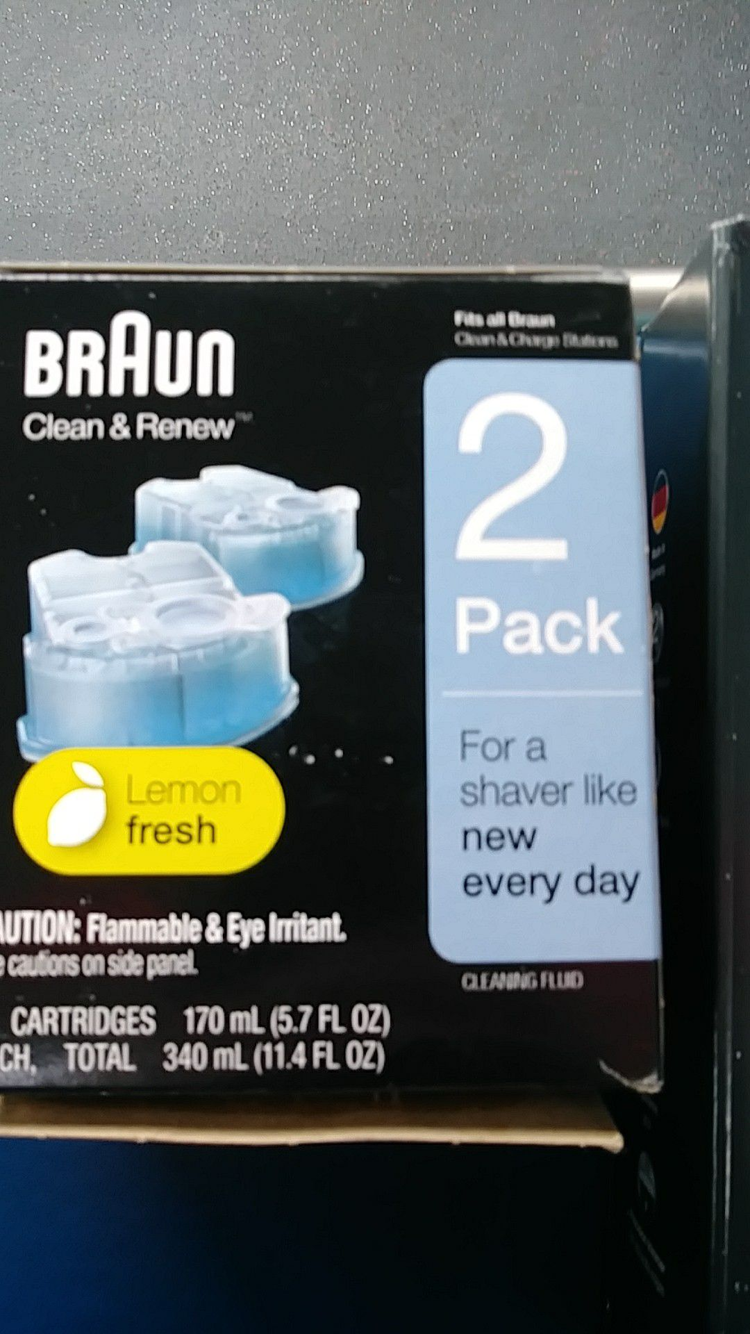 BRAUN series 3 proskin+2pack clean deals
