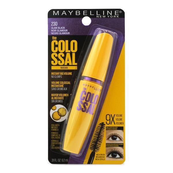 **UPDATED** Maybeline Colossal Mascara