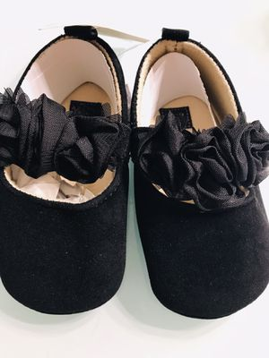 Black baby shoes for Sale in Hialeah, FL