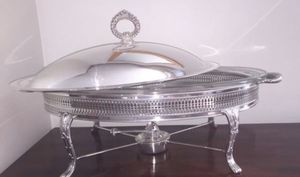 Chaffing dish silver plated (E. Sheffield ) for Sale in Baltimore, MD