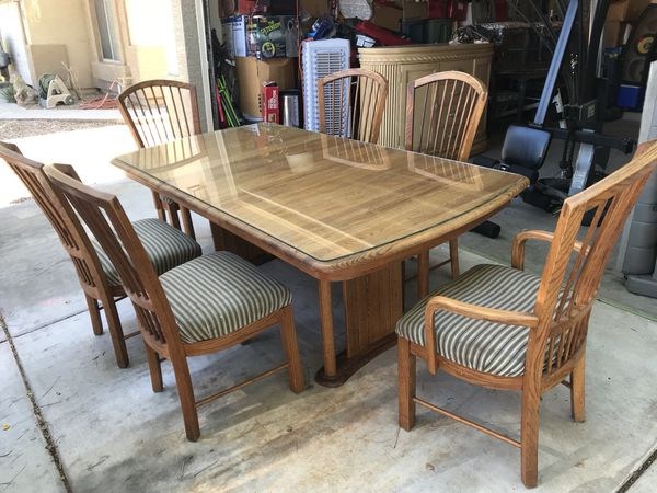 Huge Dining Table And Six Chairs For Sale In Queen Creek AZ OfferUp - Huge dining table for sale