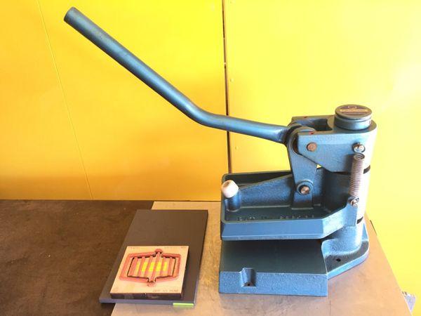 Lucris Manual Hand Die Cutting Press Clicker Press Ma