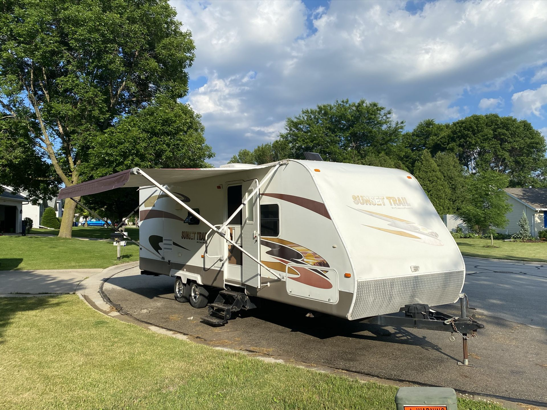 Photo 27 SUNSET TRAIL by CROSSROADS TRAVEL TRAILER CAMPER