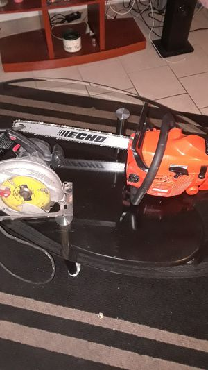 Brand new echo chainsaw for both items for Sale in Washington, DC