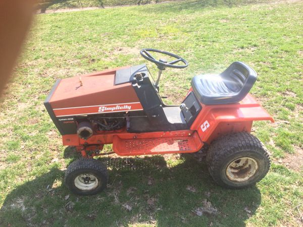 Simplicity 4208 lawnmower with 42