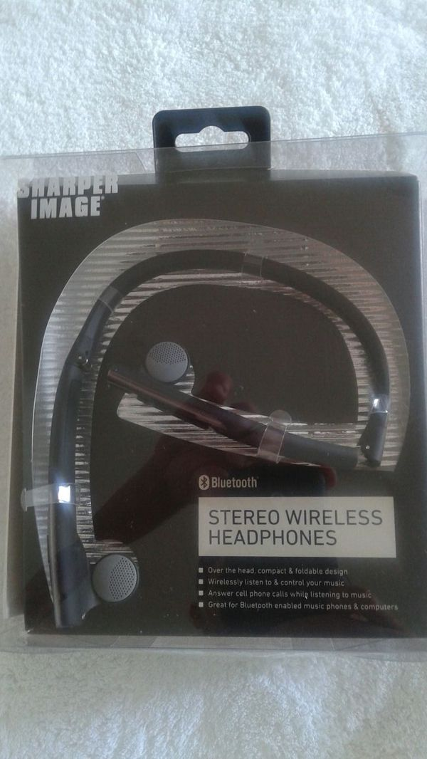 Sharper Image Sbt512 Stereo Wireless Headphone For Sale In Miami