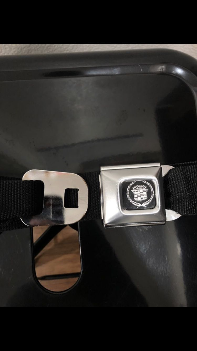 Cadillac Seatbelt: One Size Fits All