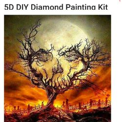 5d Diamond Art 💎 Paintingss Kits Everything You Need Great Gift🎁 Thumbnail