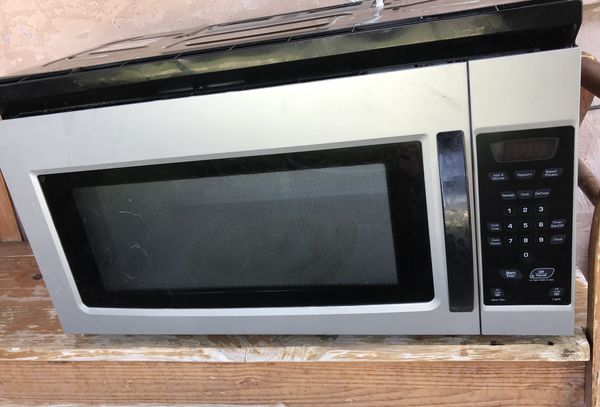 Amana Over The Range Microwave Sliver Black For In Spring Valley Ca Offerup