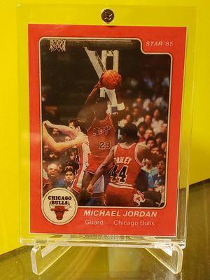 Photo 1984-85 Star Michael Jordan #101 XRC Authentic Raw Altered Chicago Bulls 1985
