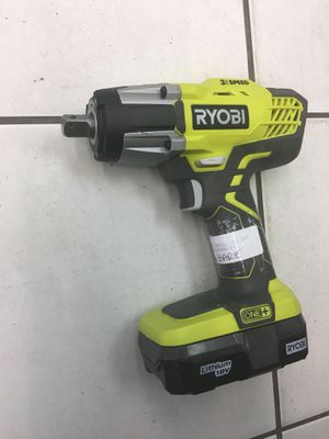 RYOBY IMPACT DRILL MODEL P261 (w/ BATTERY) for Sale in Orlando, FL