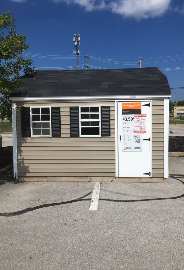 Wood Masters 10x12 Shed for Sale in Dayton, OH - OfferUp