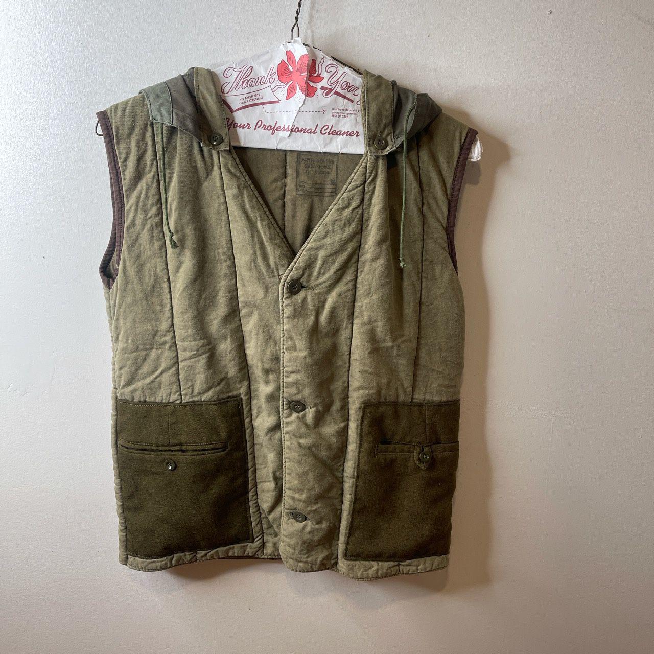 Arte Povera Kapital Type Green Vest
