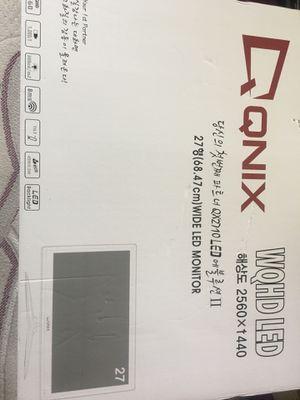 """Perfect Pixel QNIX QX2710 LED 27"""" WQHD 2560x1440 PLS 2K Computer PC Monitor for Sale in Richmond, VA"""