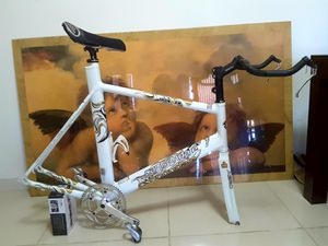 Photo Ultra Light Frame Cannondale Ironman 800 (25th Anniversary), Size : 60cm. (XL) Excellent Condition.