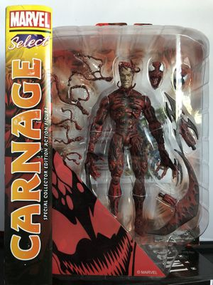 Marvel select carnage action figure for Sale in San Jose, CA