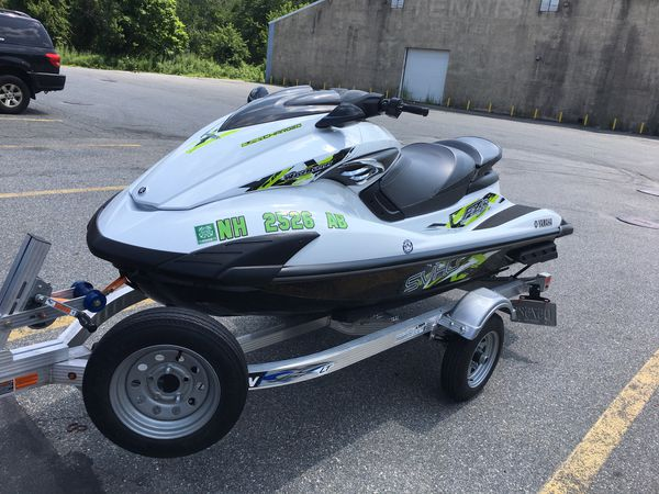 Yamaha super charged fzs wave runner