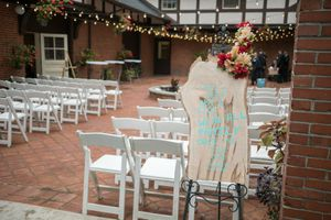 Beautiful Live Edge Wedding Sign for Sale in Frederick, MD