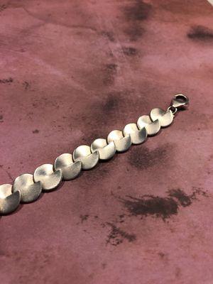Brushed Silver Designer Bracelet for Sale in Austin, TX