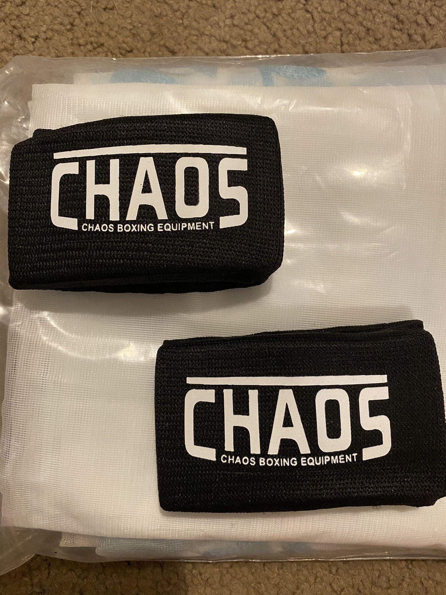 Chaos boxing equipment sweat wrist bands