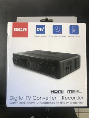 RCA CONVERTER BOX for Sale in Baltimore, MD