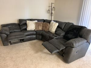 2Pc Sectional (Pewter) Ashley's furniture product for Sale in Fort Washington, MD