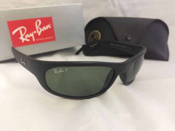 ac1349d155 New Ray Ban Polarized RB4033 Sunglasses Matte Black for Sale in ...