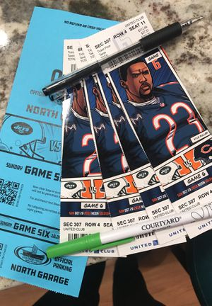 Bears v Jets for Sale in Naperville, IL