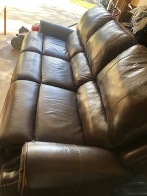 Leather Couch for Sale in Beltsville, MD