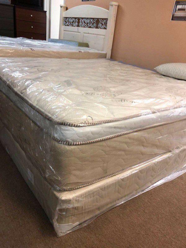 Royal Memory Foam  Pillowtop  Queen Set