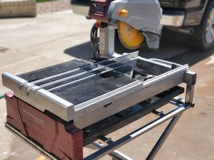 Photo Chicago Electric Large Format Tile Saw