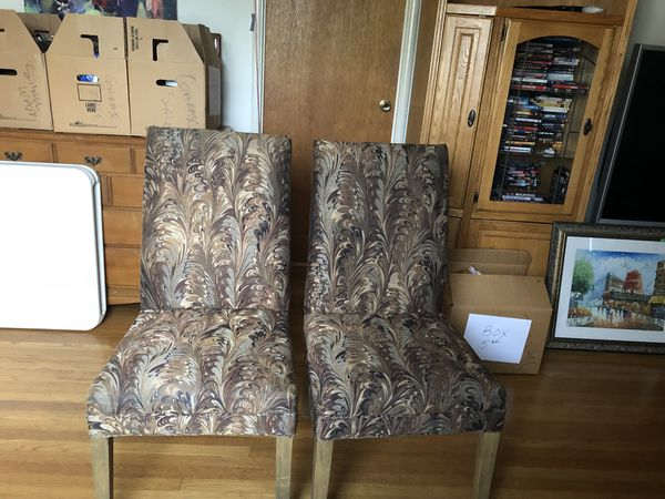Two Matching Chairs From Connolly S Furniture Fremont Ca