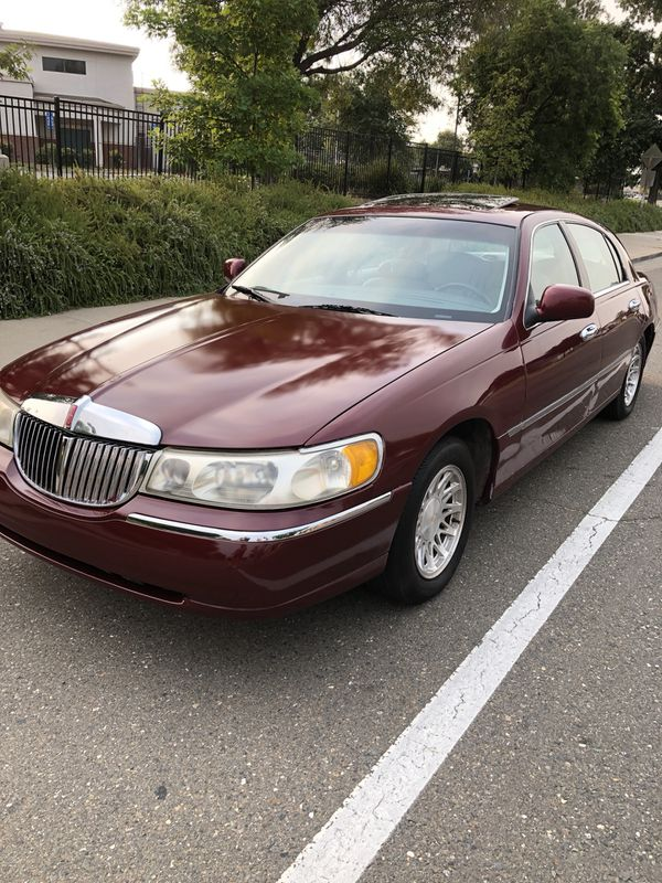 1998 Lincoln Town Car Cartier Edition For Sale In Sacramento Ca