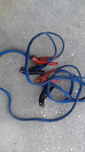 Heavy Duty jumper cable 16 feet long for Sale in Orlando, FL