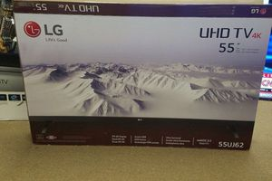 """LG 55UJ6200 55"""" 4K UHD HDR LED Smart TV 2160p (FREE DELIVERY) for Sale in Lakewood, WA"""