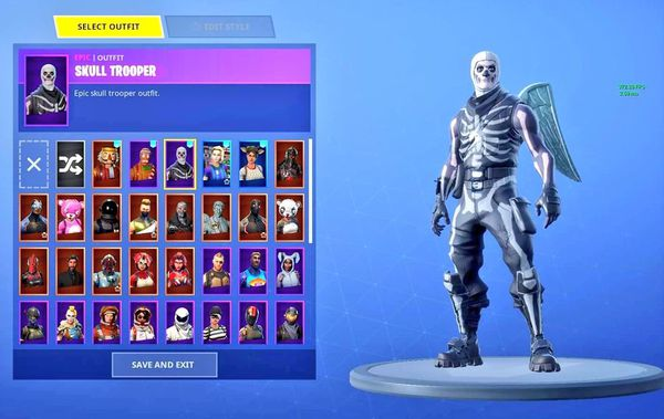 Rare stacked FortNite account ps4 for Sale in Melrose Park ...