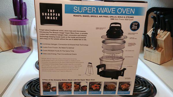 Sharper Image Super Wave Oven For Sale In Tacoma Wa Offerup