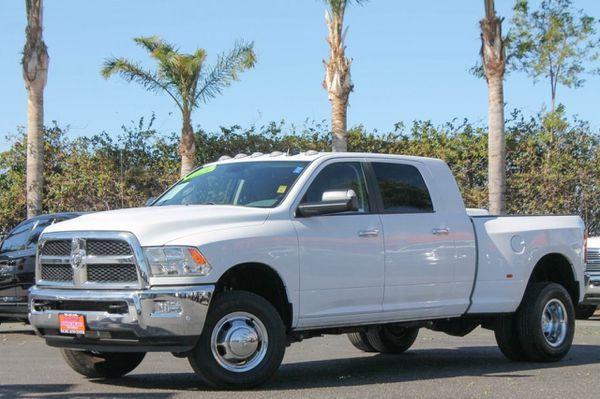 2016 Dodge Ram 3500 4x4 Turbo Diesel Dually Mega Cab Pickup