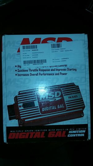 MSD DIGITAL 6AL IGNITION CONTROL for Sale in Maryland Heights, MO