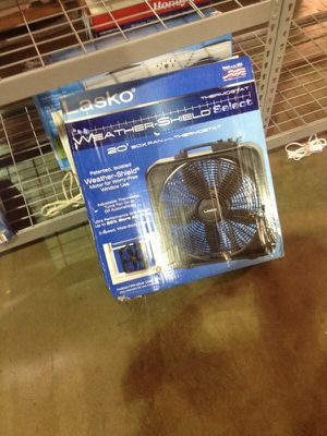 20 inch box fan with Thermo stat for Sale in Phoenix, AZ